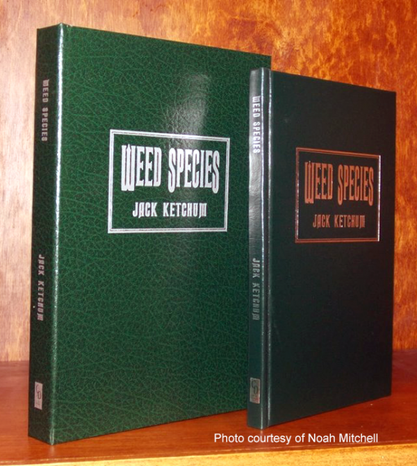 Weed Species (Lettered Edition)